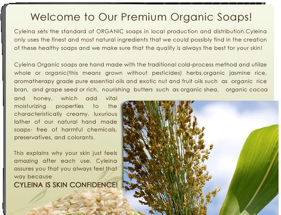 Cycleina Organic Soaps