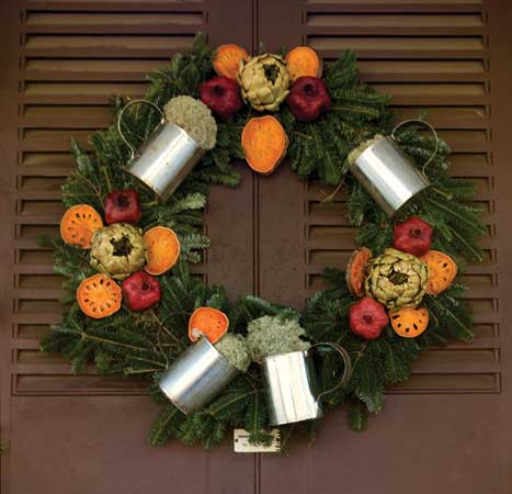 Christmas Tree Decors Using Kitchen Ingredients